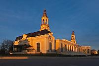 Europe/France/Aquitaine/64/Pyrénées-Atlantiques/Béarn/Pau: Le Palais Beaumont, originellement dénommé Palais d'Hiver, voit le jour à la fin du XIXe siècle. Mélangeant les styles architecturaux, il est plusieurs fois remanié et doit être réhabilité en 1996 après un demi-siècle d'oubli. Il accueille un casino mais est surtout un centre de congrès, qui fait partie du groupement des H.C.C.E. (Historic Conference Centres of Europe)