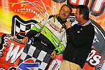 Nov 07, 2009; 10:12:35 PM; Concord, NC, USA; The third-annual World of Outlaws World Finals racing at The Dirt Track @ Lowe's Motor Speedway.  Mandatory Credit: (thesportswire.net)