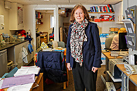 Labour Party Welsh Assembly Member Julie Morgan at her constituency office in Cardiff, Wales, UK. Wednesday 29 March 2018