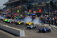 INDYCAR SERIES FINAL PRACTICE - 102ND RUNNING OF THE INDIANAPOLIS 500 (USA) ROUND 6 05/2018
