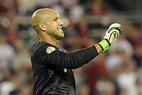 U.S goalkeeper Tim Howard..USMNT defeated Guatemala 3-1 in World Cup qualifying play at LIVESTRONG Sporting Park, Kansas City, KS.