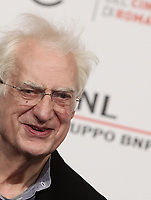 Il regista francese Bertrand Tavernier posa durante un photocall alla 14^ Festa del Cinema di Roma all'Aufditorium Parco della Musica di Roma, 25 ottobre 2019.<br /> French director Bertrand Tavernier poses for a photocall to during the 14^ Rome Film Fest at Rome's Auditorium, on 25 October 2019.<br /> UPDATE IMAGES PRESS/Isabella Bonotto