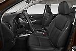 Front seat view of a 2018 Renault Alaskan Denali 4 Door Pick Up front seat car photos