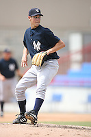 August 13, 2008: Matt Richardson (18) of the GCL Yankees.  Photo by: Chris Proctor/Four Seam Images