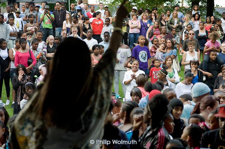 Queen's Park Gardens summer festival 2009.
