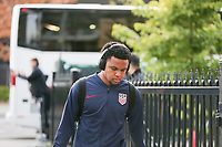 TORONTO, ON - OCTOBER 15: Weston McKennie #8 of the United States as he enters the stadium during a game between Canada and USMNT at BMO Field on October 15, 2019 in Toronto, Canada.