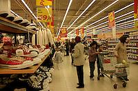 Turkish supermarket Real in Istanbul, Turkey