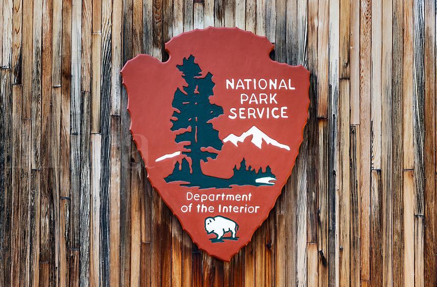 National Park Service sign.