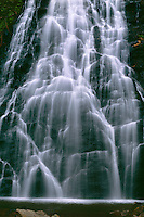 Crabtree Falls, Crabtree Falls Loop Trail<br /> Crabtree Meadows, Blue Ridge Parkway<br /> Blue Ridge Mountains<br /> North Carolina