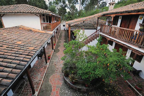Hacienda in Quito, Hosteria San Jorge, Quito, Ecuador, Andes, South America