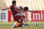 Nejmah vs Al Jaish during the 2015 AFC Cup 2015 Group D match on May 13, 2015 at the Saida Municipal Stadium in Saida, Lebanon. Photo by Adnan Hajj / World Sport Group