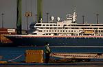 Braemar Coronavirus-infected cruise ship dock in Cuba