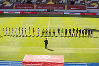 General View during the game Honduras vs United States, corresponding to Semifinals of the Concacaf Mens Olympic Qualifying 2020, at Jalisco Stadium, on March 28, 2021.<br /> <br /> <br /> <br /> Vista General durante el partido Honduras vs Estados Unidos, correspondiente a Semifinales del campeonato Preolimpico de Concacaf Guadalajara 2020, en el Estadio Jalisco, el 28 de Marzo de 2021.