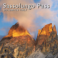 Dolomites Sassalungo Mountains Photos Pictures Images Italy