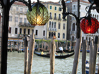 Lights along the Grand Canal - Venice