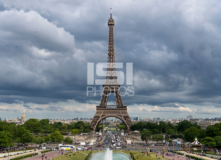 Paris, FRA - June 13, 2019:  The USWNT is in Paris for the second match of the group stage of the FIFA Women's World Cup.