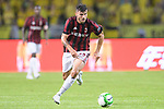 AC Milan Forward Patrick Cutrone in action during the International Champions Cup 2017 match between AC Milan vs Borussia Dortmund at University Town Sports Centre Stadium on July 18, 2017 in Guangzhou, China. Photo by Marcio Rodrigo Machado / Power Sport Images
