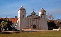 California Missions: Mission Santa Barbara, 1812-1820. Photo '83.