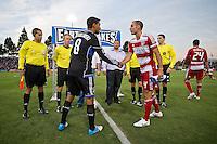 San Jose Earthquakes vs FC Dallas, July 18, 2012