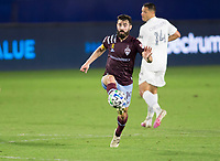 CARSON, CA - SEPTEMBER 19: Jack Price #19 of the Colorado Rapids during a game between Colorado Rapids and Los Angeles Galaxy at Dignity Heath Sports Park on September 19, 2020 in Carson, California.