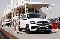 27th March 2021; Sakhir, Bahrain; F1 Grand Prix of Bahrain, Qualifying sessions; HAMILTON Lewis (gbr), Mercedes AMG F1 GP W12 E Performance during Formula 1 Gulf Air Bahrain Grand Prix 2021 on the Bahrain International Circuit, in Sakhir, Bahrain -