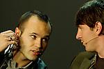 Andres Iniesta (ESP) und Lionel Messi (ARG)  die Kandidaten fuer den FIFA Ballon D'Or (Andreas Meier/EQ Images)