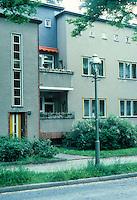 Berlin: Zehlendorf. Onkel Toms Hutte 1926-28. Plan by Bruno Taut.
