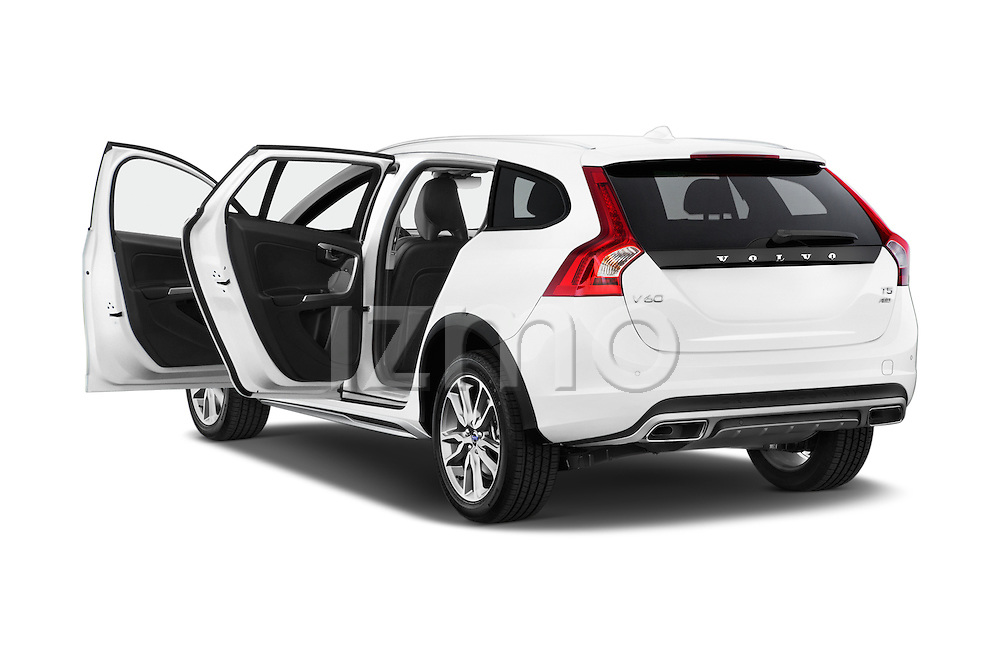 Car images of a 2015 Volvo V60 T5 Cross Country AWD 4 Door Wagon Doors