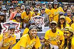 Baylor wins the Big 12 women's basketball championship final, Sunday, March 08, 2015 in Dallas, Tex. (Dan Wozniak/TFV Media via AP Images)
