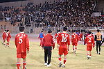 Iraq vs DPR Korea during the Olympic Preliminary Qualifier match. Photo by World Sport Group