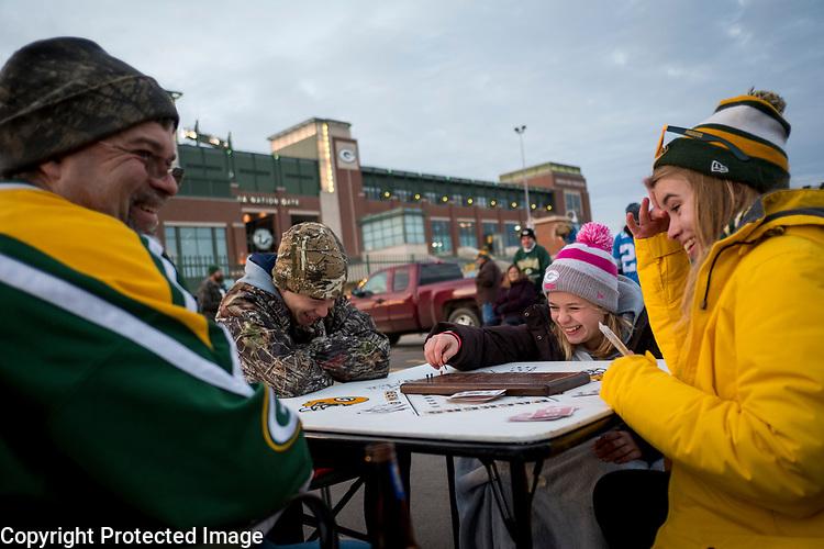 Green Bay Packers vs. Detroit Lions at Lambeau Field in Green Bay, Wis., on November 6, 2017. Detroit won 30-17.