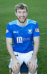 St Johnstone FC Photocall….2018/19 Season<br />David Wotherspoon<br />Picture by Graeme Hart.<br />Copyright Perthshire Picture Agency<br />Tel: 01738 623350  Mobile: 07990 594431