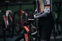 after course recon<br /> <br /> U23 Men's race<br /> UCI CX World Cup Namur / Belgium 2017