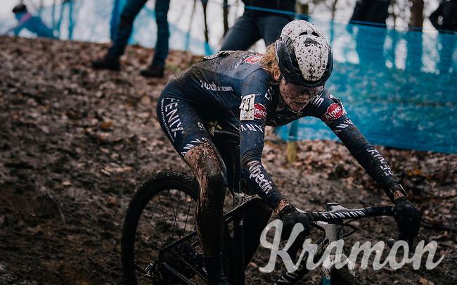 Puck Pieterse (NED/Alpecin-Fenix)<br /> <br /> Women's race at the X2O Herentals Cross 2020 (BEL)<br /> <br /> ©kramon