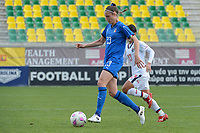 20190304 - LARNACA , CYPRUS : Italian defender Cecilia Salvai pictured during a women's soccer game between Italy and Thailand , on Monday 4 March 2019 at the AEK Arena in Larnaca , Cyprus . This is the third game in group B for both teams during the Cyprus Womens Cup 2019 , a prestigious women soccer tournament as a preparation on the FIFA Women's World Cup 2019 in France . PHOTO SPORTPIX.BE | STIJN AUDOOREN