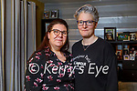 Sinead Fitzgerald and her partner Lorraine Connor at home in Tralee and Sinead has started an online petition to have bridal shops reopened for 2021 brides as they are getting married in October. L to r: Sinead Fitzgerald and Lorraine Connor