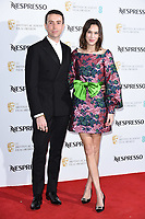 Nick Grimshaw and Alexa Chung<br /> arriving for the 2019 BAFTA Film Awards Nominees Party at Kensington Palace, London<br /> <br /> ©Ash Knotek  D3477  09/02/2019