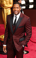 HOLLYWOOD, LOS ANGELES, CA, USA - MARCH 02: Michael Strahan at the 86th Annual Academy Awards held at Dolby Theatre on March 2, 2014 in Hollywood, Los Angeles, California, United States. (Photo by Xavier Collin/Celebrity Monitor)