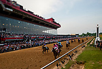 MAY 18: War of Will with Tyler Gaffalione wins the 144th running of the Preakness Stakes at Pimlico Racecourse in Baltimore, Maryland on May 18, 2019. Evers/Eclipse Sportswire/CSM