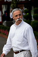 13th March 2020; Melbourne Grand Prix Circuit, Melbourne, Victoria, Australia; Formula One, Australian Grand Prix, Practice Day; Chase Carey addresses the media about the cancellation of the Grand Prix  due to one of the Renault crew being tested positive for the Corona Virus