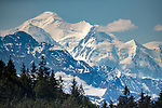 USA, Alaska, Glacier Bay National Park, Mount Fairweather