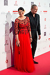 Fabiola Martinez and Bertin Osborne attends to the photocall of the Global Gift Gala at Cibeles Palace in Madrid. April 02, 2016. (ALTERPHOTOS/Borja B.Hojas)