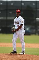 Rafael Feliz of the Gulf Coast League Astros at the Osceola Heritage Park in Kissimmee, Florida July 22 2010. Photo By Scott Jontes/Four Seam Images