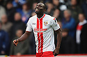 Francis Zoko of Stevenage celebrates after scoring the opening goal<br />  - Stevenage v Portsmouth - FA Cup 1st Round  - Lamex Stadium, Stevenage - 9th November, 2013<br />  © Kevin Coleman 2013