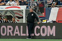FOXBOROUGH, MA - AUGUST 3: Bruce Arena during a game between Los Angeles FC and New England Revolution at Gillette Stadium on August 3, 2019 in Foxborough, Massachusetts.