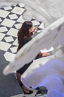 Begruessungsveranstaltung fuer neue Lehrkraefte, Erzieherinnen und Erzieher am Dienstag den 20. August 2019 in der Technischen Universitaet von Berlin.<br /> Im Bild: Bildungssenatorin Sandra Scheeres (SPD) heisst die neu eingestellten Lehrkraefte, Erzieherinnen und Erzieher sowie das weitere paedagogische Personal bei der feierlichen Veranstaltung willkommen.<br /> 20.8.2019, Berlin<br /> Copyright: Christian-Ditsch.de<br /> [Inhaltsveraendernde Manipulation des Fotos nur nach ausdruecklicher Genehmigung des Fotografen. Vereinbarungen ueber Abtretung von Persoenlichkeitsrechten/Model Release der abgebildeten Person/Personen liegen nicht vor. NO MODEL RELEASE! Nur fuer Redaktionelle Zwecke. Don't publish without copyright Christian-Ditsch.de, Veroeffentlichung nur mit Fotografennennung, sowie gegen Honorar, MwSt. und Beleg. Konto: I N G - D i B a, IBAN DE58500105175400192269, BIC INGDDEFFXXX, Kontakt: post@christian-ditsch.de<br /> Bei der Bearbeitung der Dateiinformationen darf die Urheberkennzeichnung in den EXIF- und  IPTC-Daten nicht entfernt werden, diese sind in digitalen Medien nach §95c UrhG rechtlich geschuetzt. Der Urhebervermerk wird gemaess §13 UrhG verlangt.]