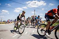 Michael Hepburn (AUS/Mitchelton Scott) exiting the cobbles. <br /> <br /> Stage 9: Arras Citadelle > Roubaix (156km)<br /> <br /> 105th Tour de France 2018<br /> ©kramon