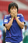 17.07.2010,  Augsburg, GER, FIFA U20 Womens Worldcup, Nigeria vs Japan,  im Bild Traenen nach dem Spiel Natsuki KISHIKAWA  (Japan Nr.4) , Foto: nph /  Straubmeier