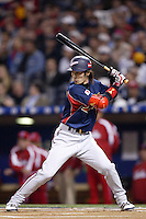 Tsuyoshi Nishioka of Japan during World Baseball Championship at Angel Stadium in Anaheim,California on March 20, 2006. Photo by Larry Goren/Four Seam Images