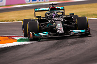 10th September, September 2021; Nationale di Monza, Monza, Italy; FIA Formula 1 Grand Prix of Italy, Free practise and qualifying for sprint race:  44 Lewis Hamilton GBR, Mercedes-AMG Petronas F1 Team